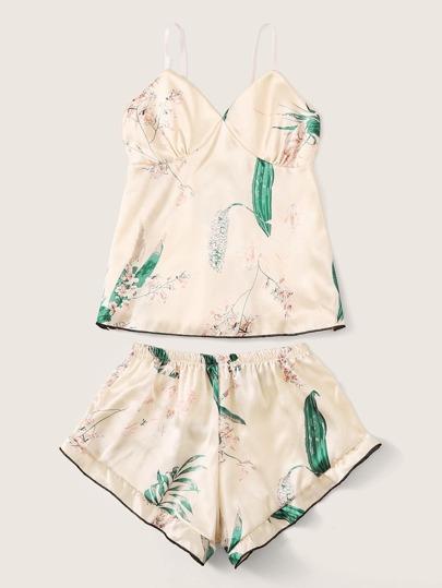 Фото 8 - Разноцветная полосатая блуза с разрезом от SheIn цвет многоцветный