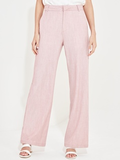 Wide Leg Pocket Detail Pants