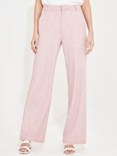 Wide Leg Pocket Detail Pants