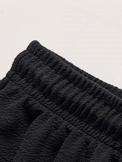 Фото 2 - Кружевной атласный комплект нижнего белья 3шт от SheIn цвет многоцветный