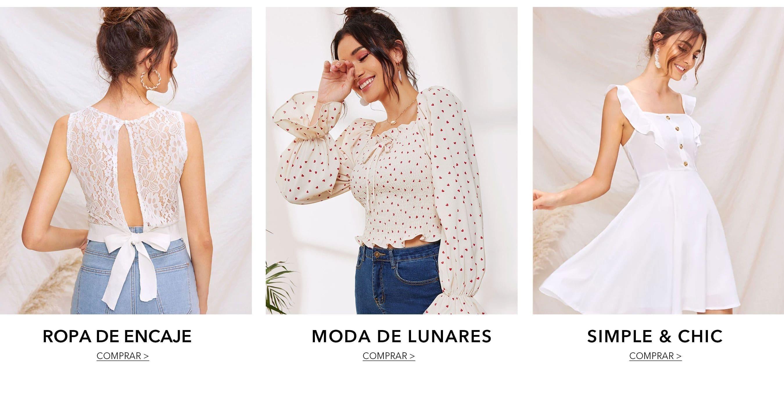 25a3c4f330 Ropa y moda de Mujer al mejor precio online