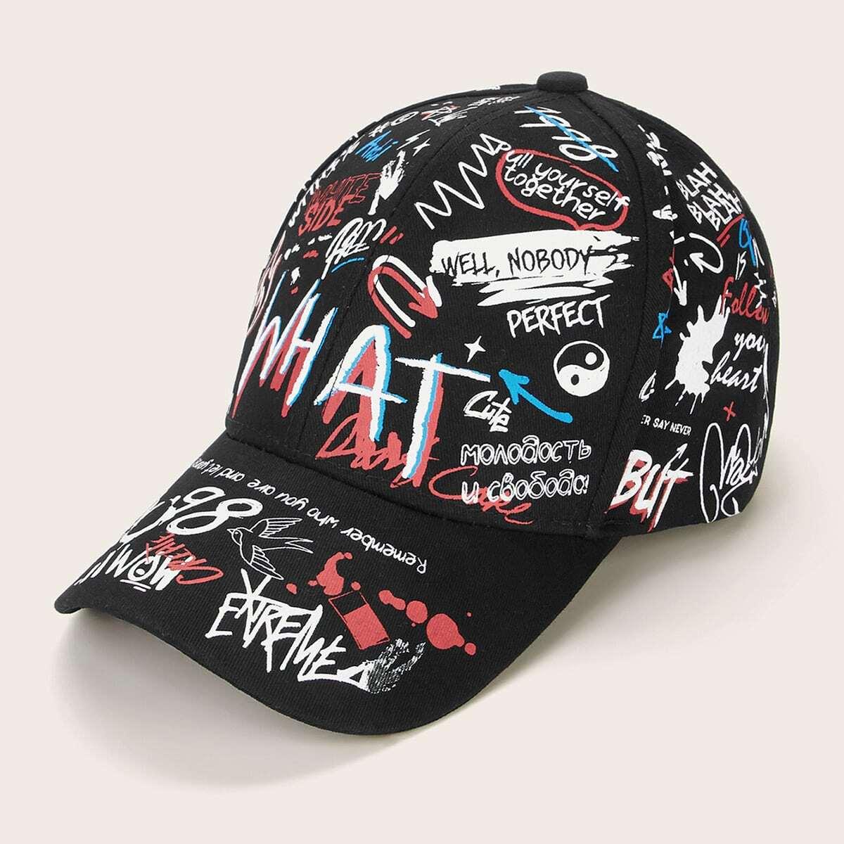 Мужская бейсбольная кепка с лозунгом от SHEIN