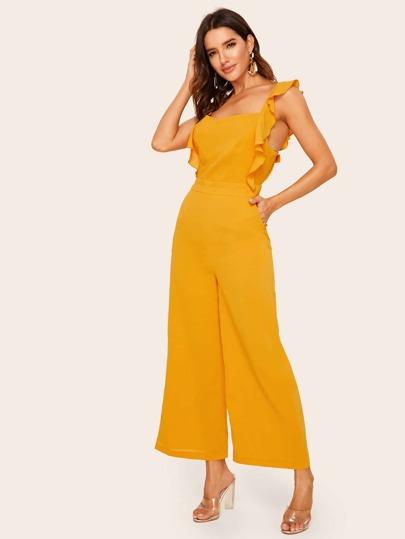 Фото 3 - Кружевной атласный комплект нижнего белья 3шт от SheIn цвет многоцветный