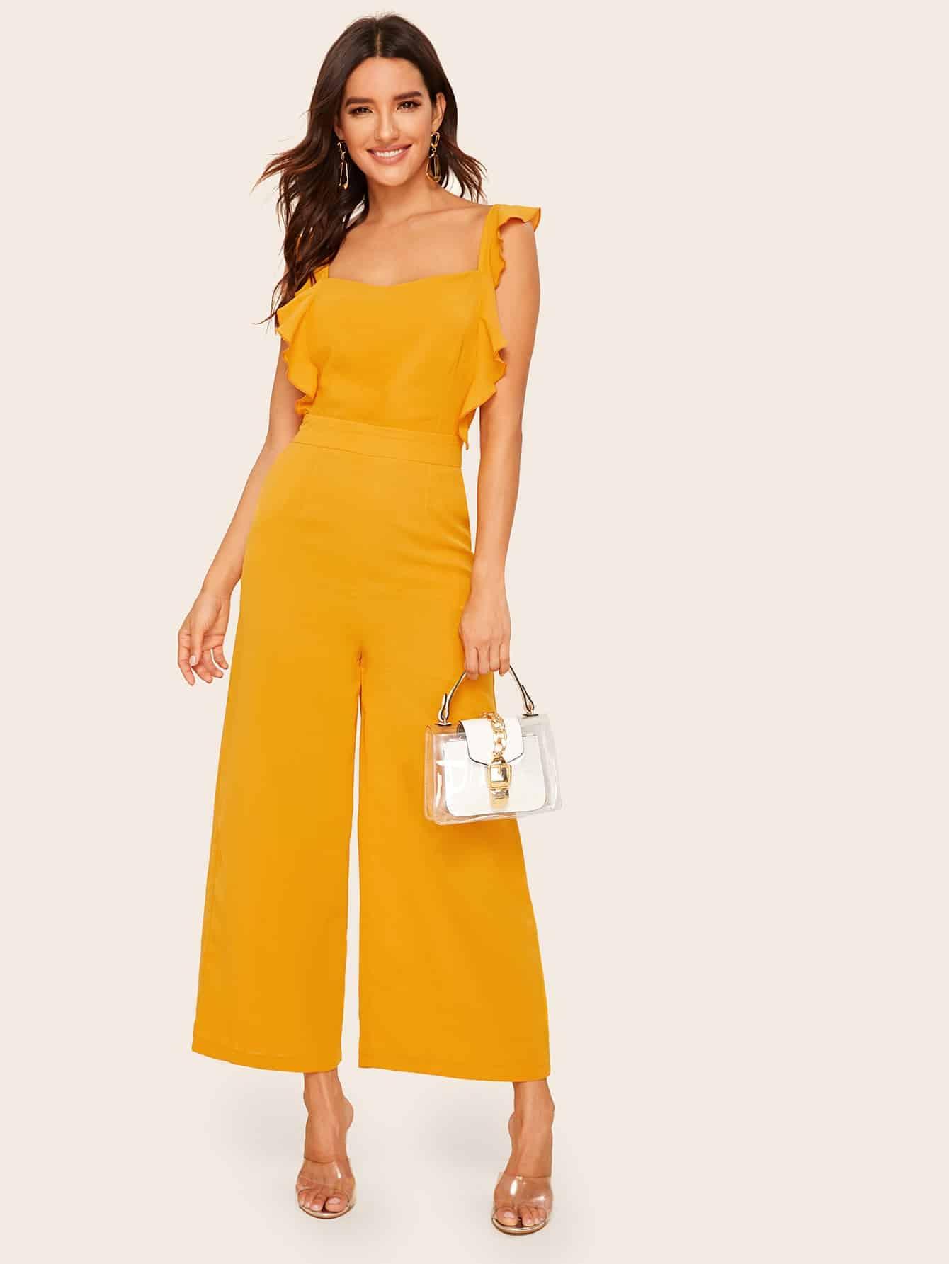 Фото - Кружевной атласный комплект нижнего белья 3шт от SheIn цвет многоцветный