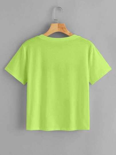 Фото 2 - Полосатые шорты с поясом и присборенной талией от SheIn цвет многоцветный