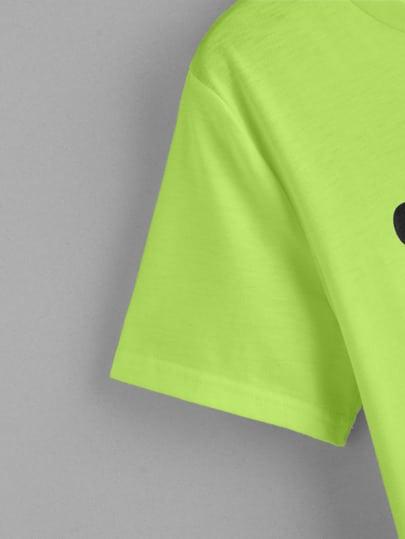 Фото 4 - Полосатые шорты с поясом и присборенной талией от SheIn цвет многоцветный