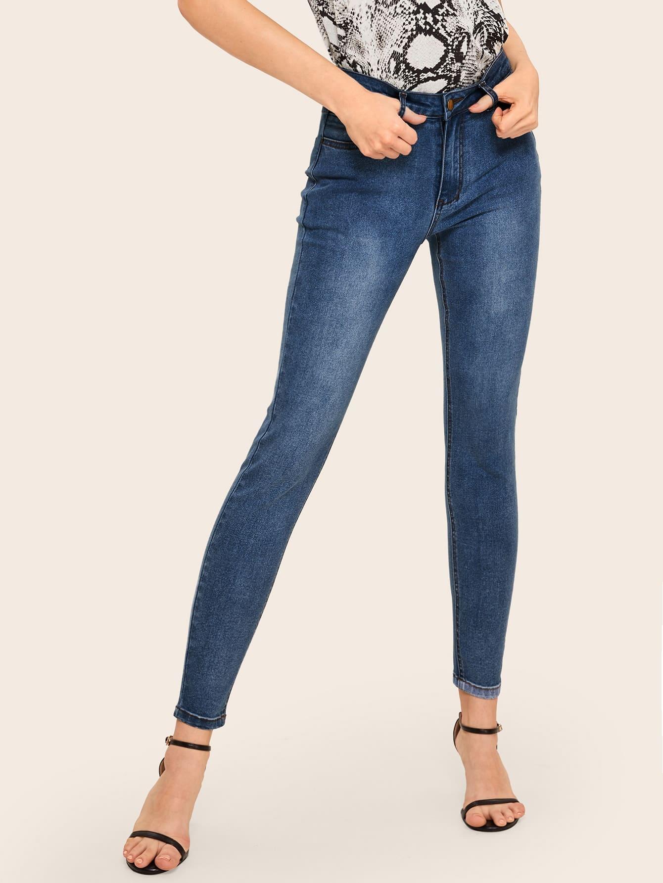 20503534db light Wash Skinny Jeans