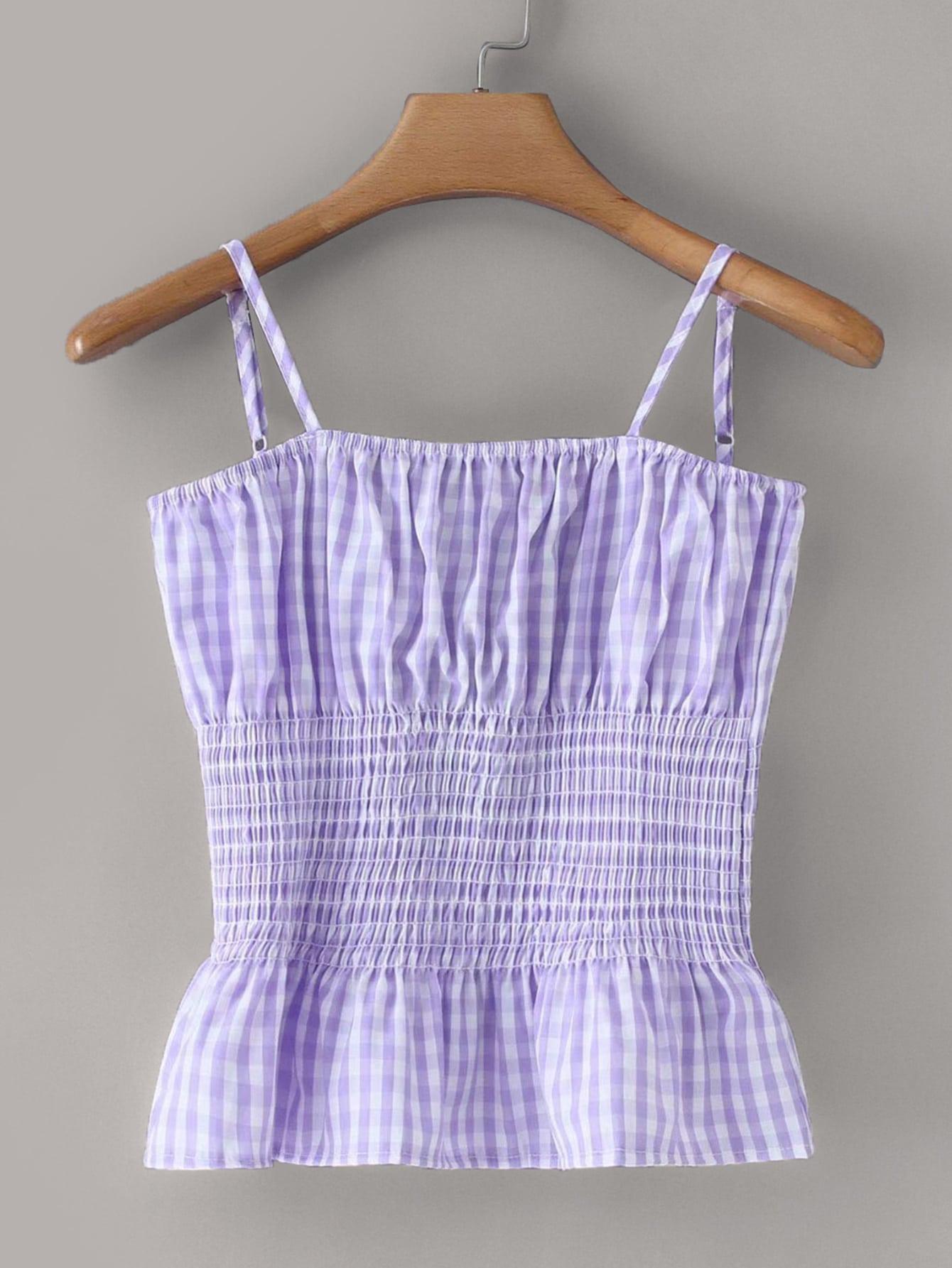 Фото - Платье на кулиске с лиственным принтом от SheIn цвет многоцветный