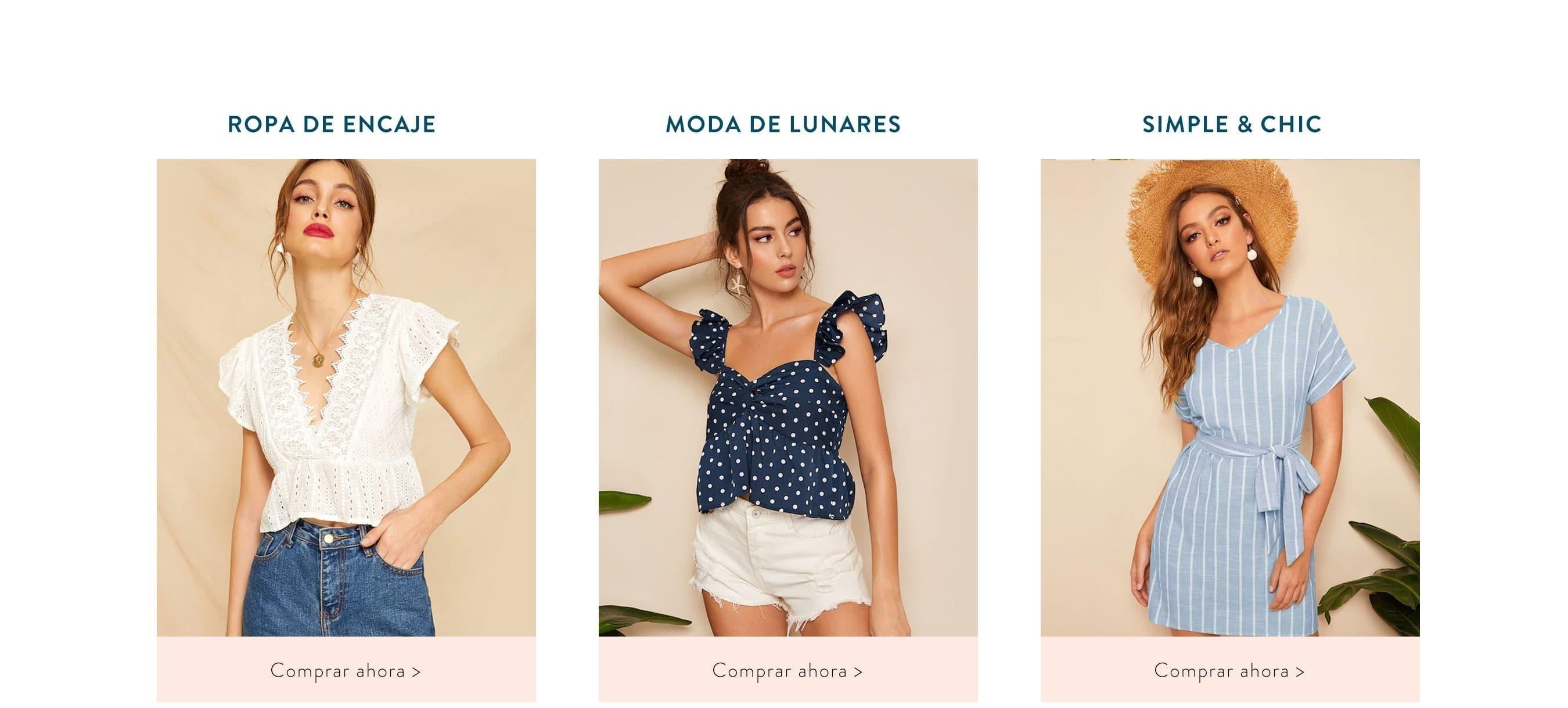 5d019341f Ropa y moda de Mujer al mejor precio online