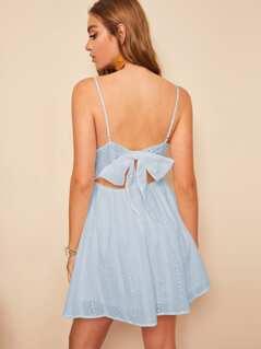 Bow Tie Back Schiffy Cami Dress