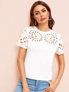 Solid Laser Cut Top