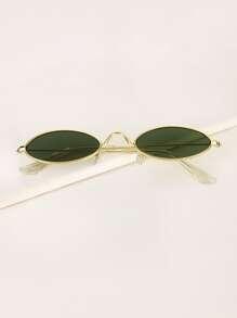 Sunglass | Metal | Frame | Oval | Men