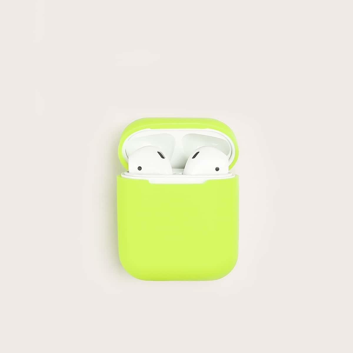 Neon groene hoofdtelefoonhoes