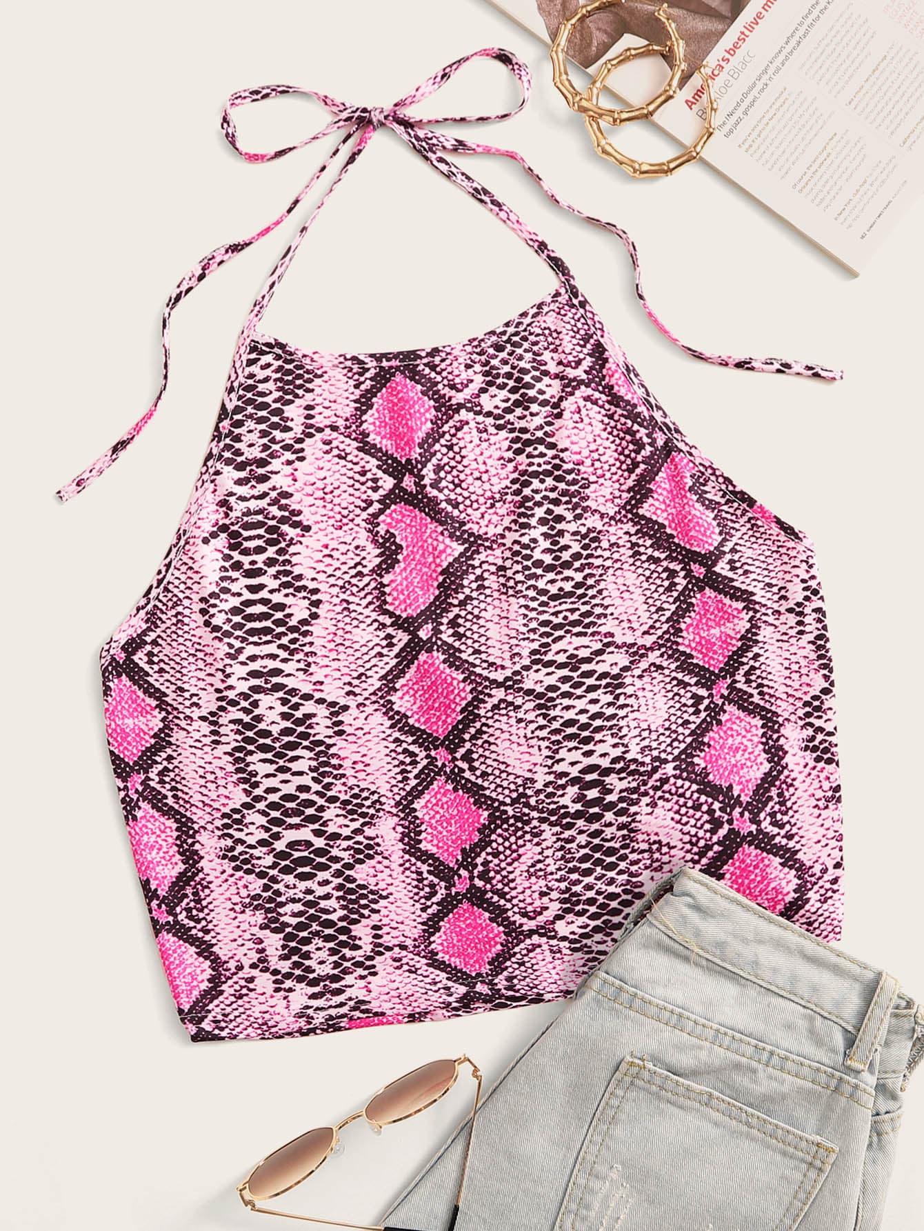 Фото 5 - Комбинезон с оригинальным рукавом и поясом от SheIn цвет многоцветный