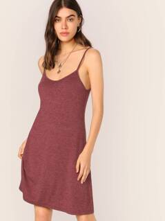 Heather Knit Cami Dress