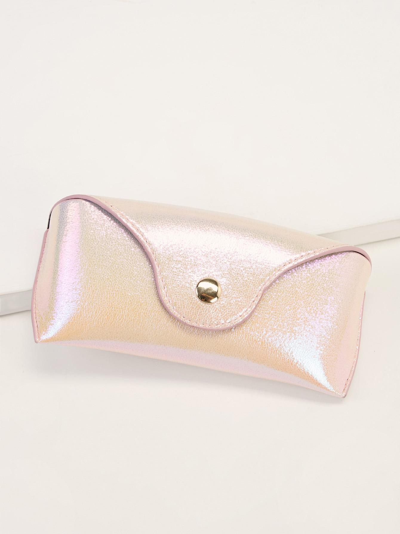 Фото - Простой футляр для очков от SheIn цвет розовые