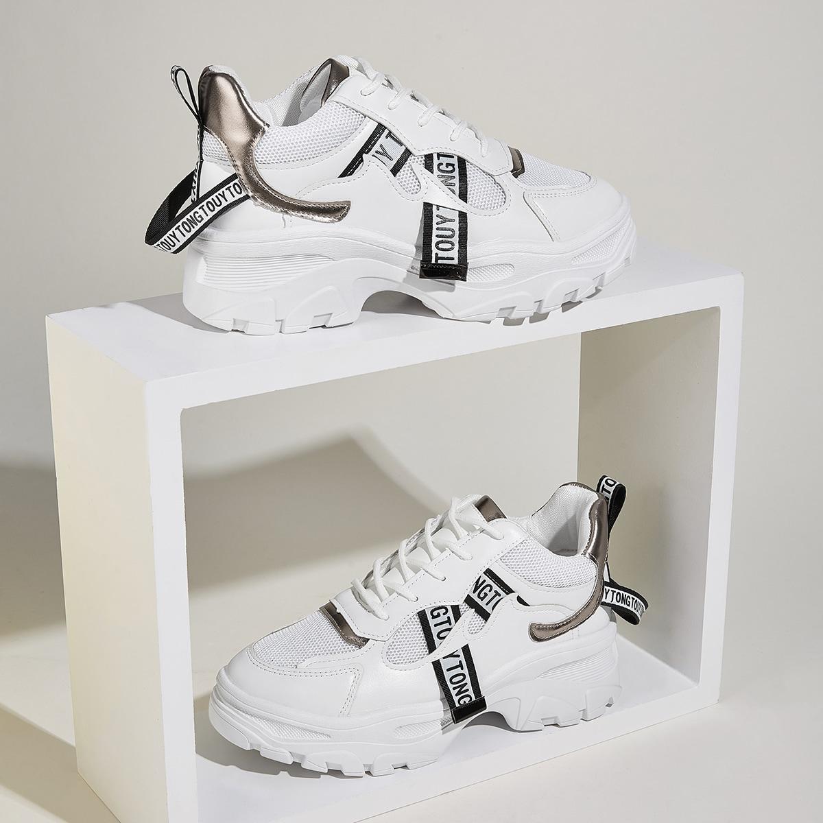 Модные Кроссовки С Печатным Принтом от SHEIN