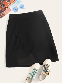 ba895f255 Plus Size Skirts for Women Online |SheIn