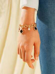 Rhinestone | Bracelet | Charm | Chain