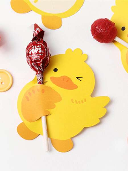 Duck Shaped Lollipop Stick Holder 50pcs