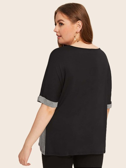 Фото 2 - Платье с поясом, вышивкой и глубоким V-образным вырезом от SheIn цвет белые