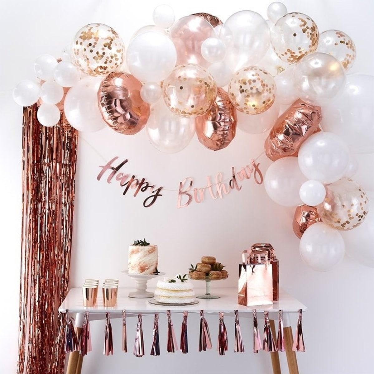 Sequin Decor ballonset 31-delig met verjaardagsspandoek