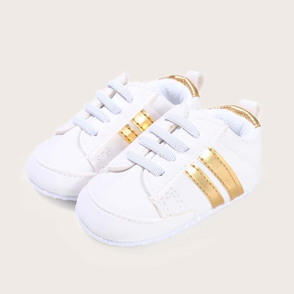 Детские обувь в полоску для мальчиков от SHEIN