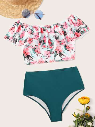 floral swim