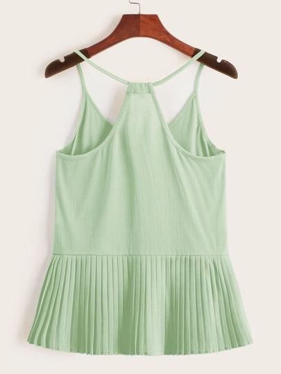 Фото 7 - Платье с поясом, вышивкой и глубоким V-образным вырезом от SheIn цвет белые