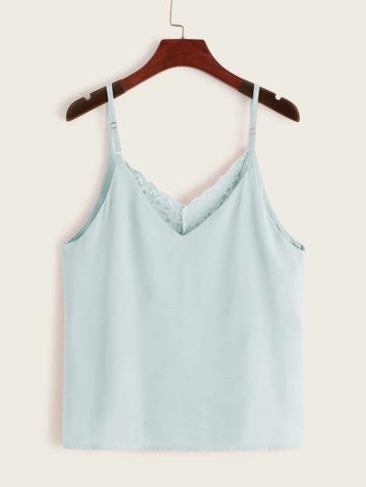 Фото 2 - Кружевное платье с вышивкой, молнией и завязкой от SheIn цвет белые