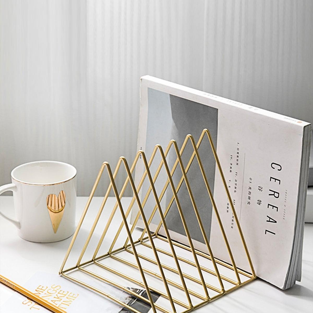 Triangle Shaped Desktop Book opbergrek