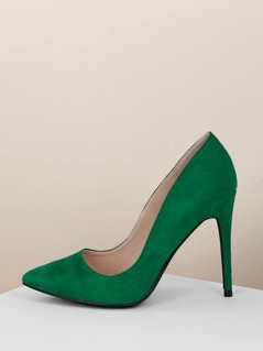 Pointed Toe Classic Stiletto Heel Pumps