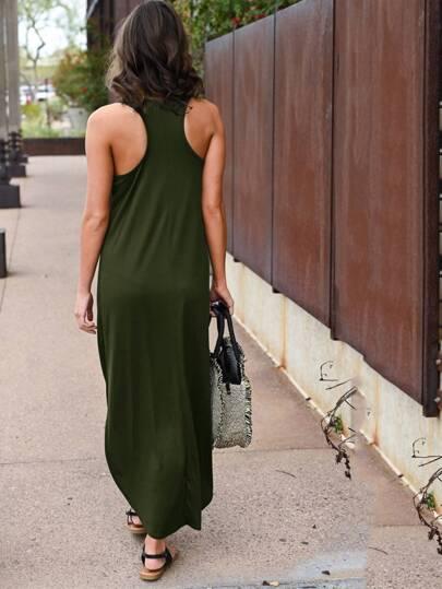 Фото 2 - Контрастное платье с змеиным принтом от SheIn цвет серые