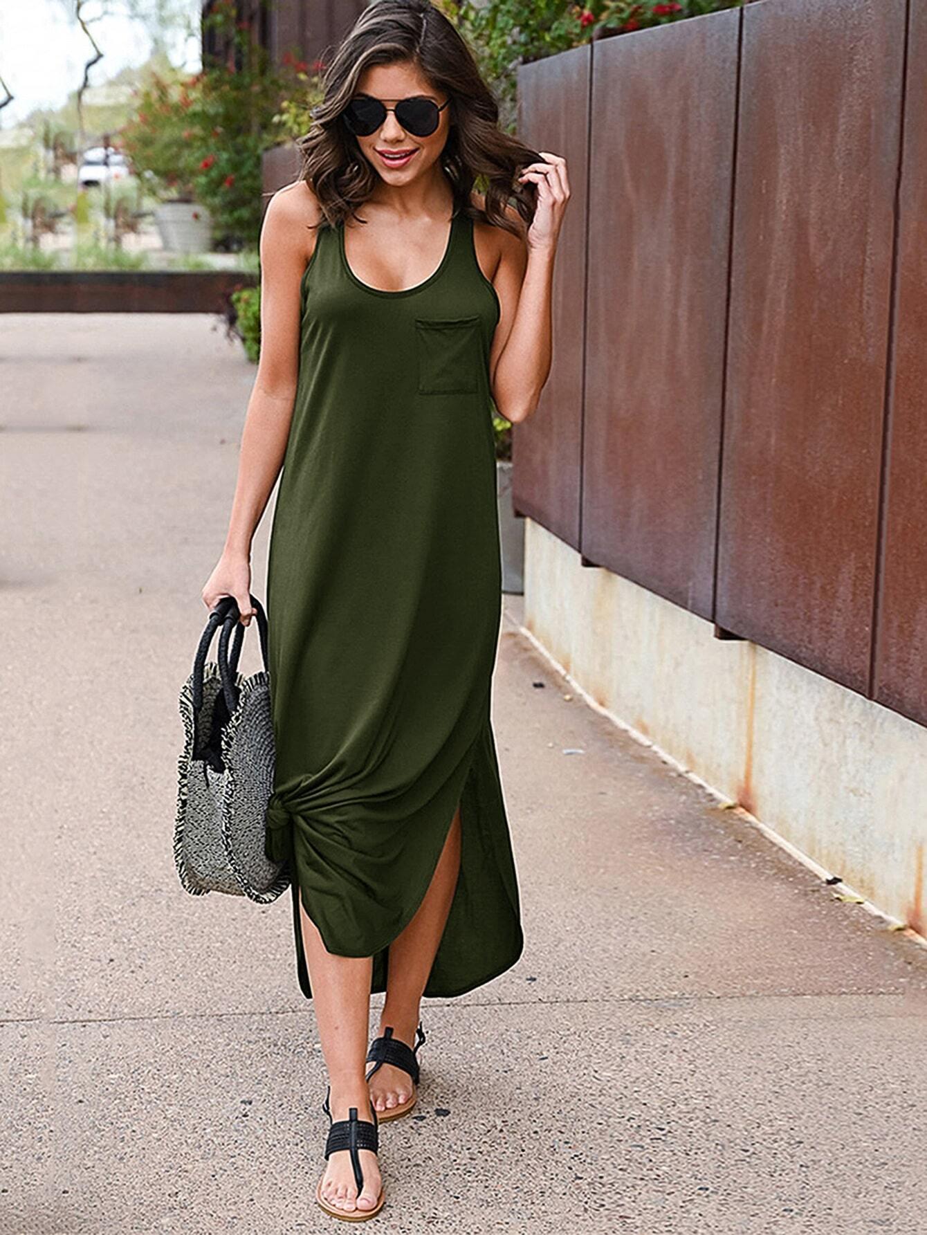 Фото - Контрастное платье с змеиным принтом от SheIn цвет серые
