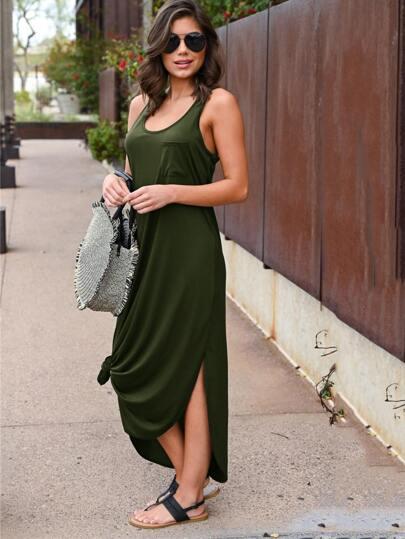 Фото 3 - Контрастное платье с змеиным принтом от SheIn цвет серые
