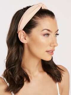 Chiffon Twist Knot Detail Headband