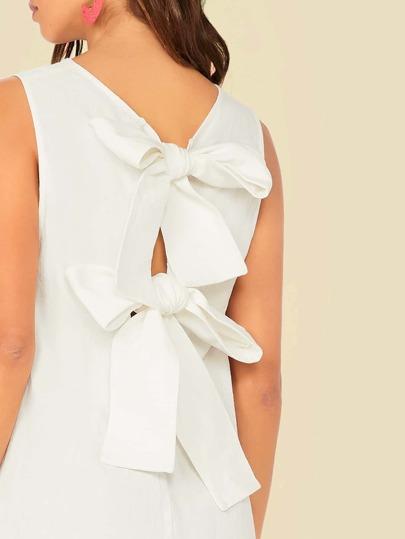 Фото 8 - Атласное платье с пышными рукавами и поясом от SheIn цвета хаки