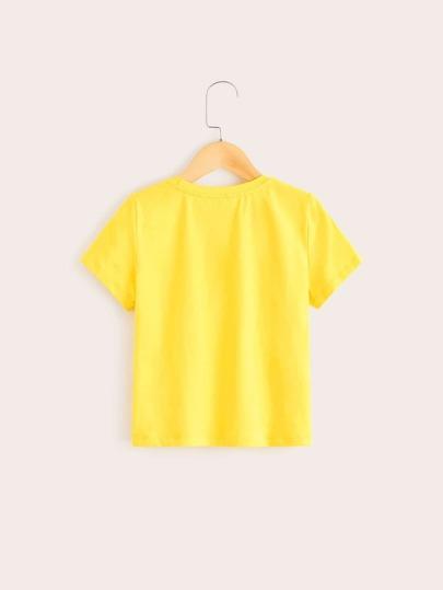 Фото 2 - Топ с узлом, цветочным принтом и шорты от SheIn цвет многоцветный