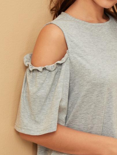 Фото 15 - Атласная пижама в горошек для девочек от SheIn цвет тёмно-синие