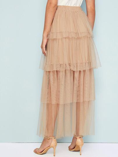 Фото 16 - Стильное платье с фестончатым краем от SheIn цвет чёрные
