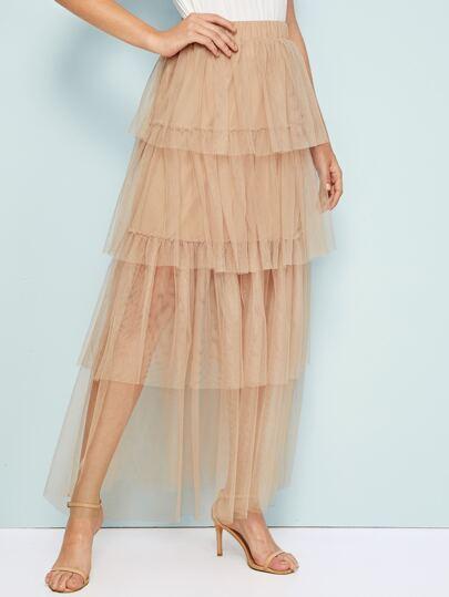 Фото 19 - Стильное платье с фестончатым краем от SheIn цвет чёрные