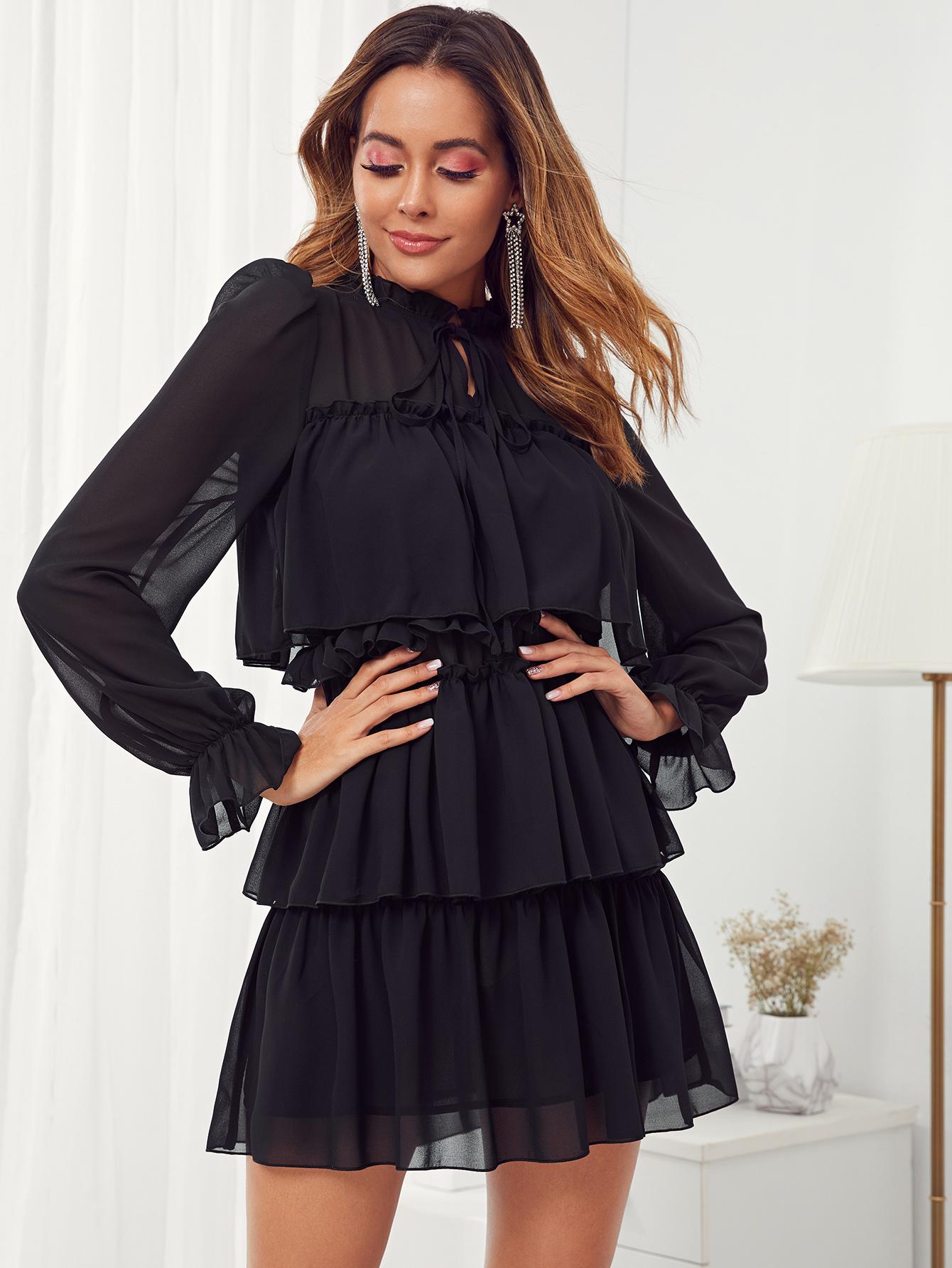 Фото - Леопардовая расклешенная юбка с графическим принтом размера плюс от SheIn цвет многихцветные