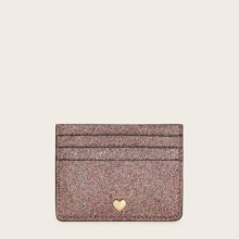 Heart Decor Glitter Purse (swbag03190625123) photo