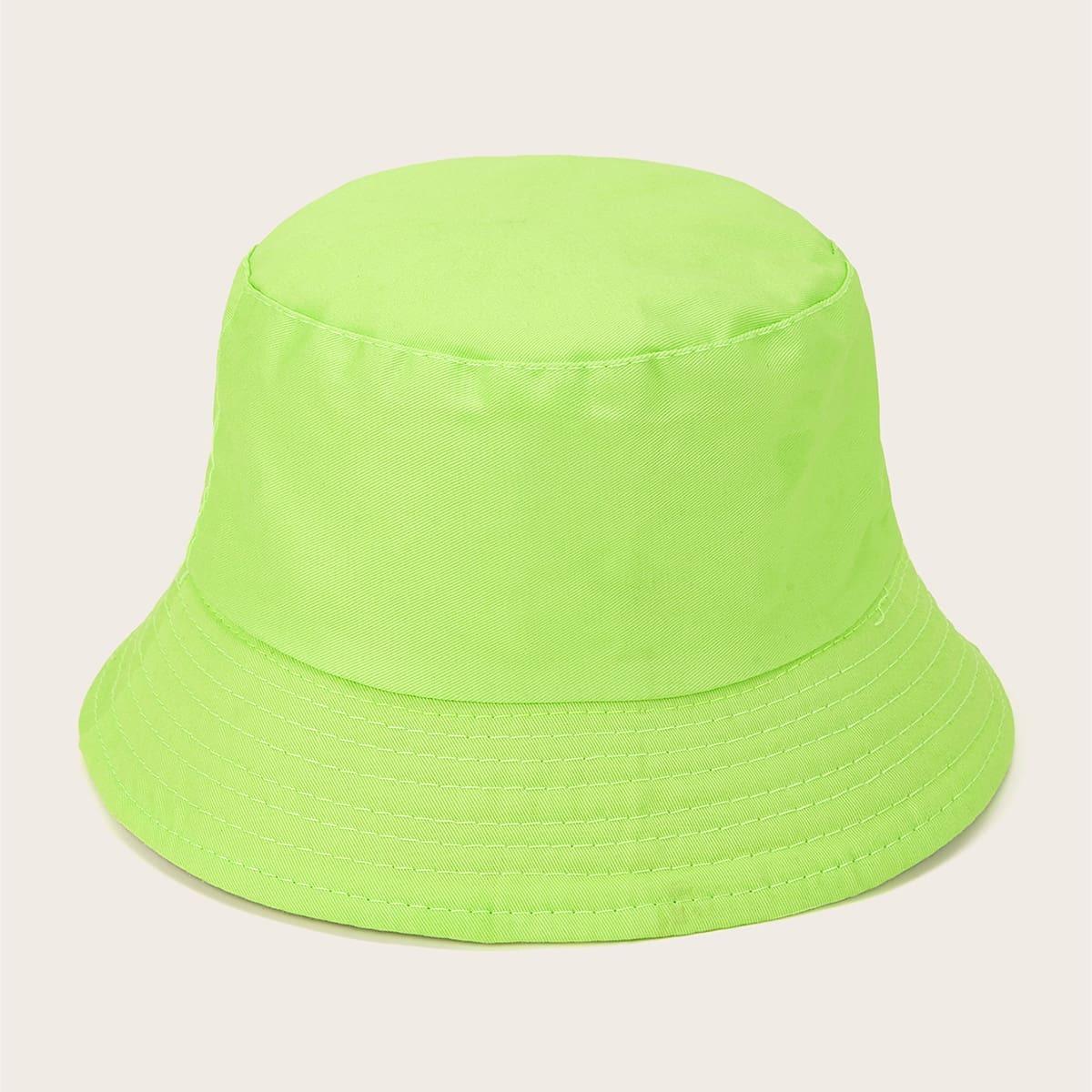 Мужская неоновая шляпа с пряжкой от SHEIN