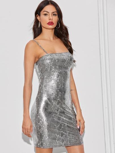 Фото 13 - Стильное платье с фестончатым краем от SheIn цвет чёрные