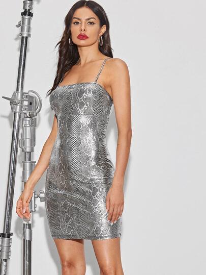 Фото 14 - Стильное платье с фестончатым краем от SheIn цвет чёрные