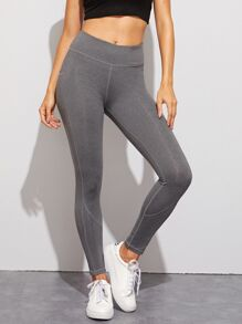 Legging | Skinny | Solid | High