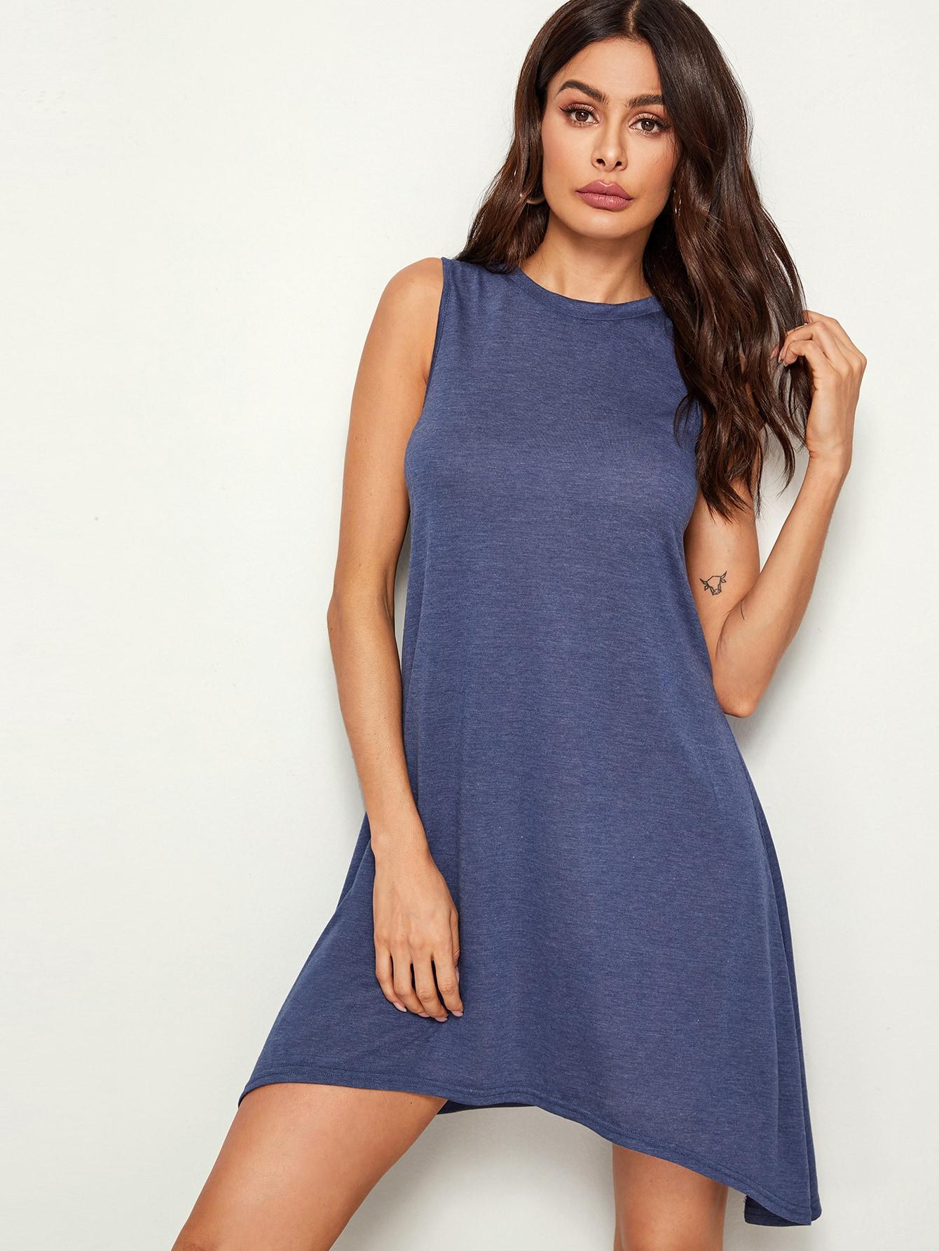 Фото - Вязаный платье от SheIn цвет синие