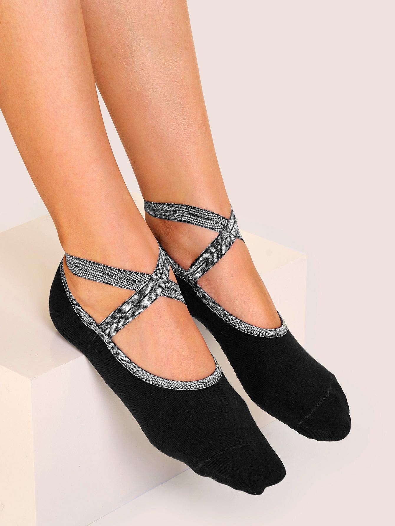 Фото - Невидимые носки 1 пара от SheIn черного цвета