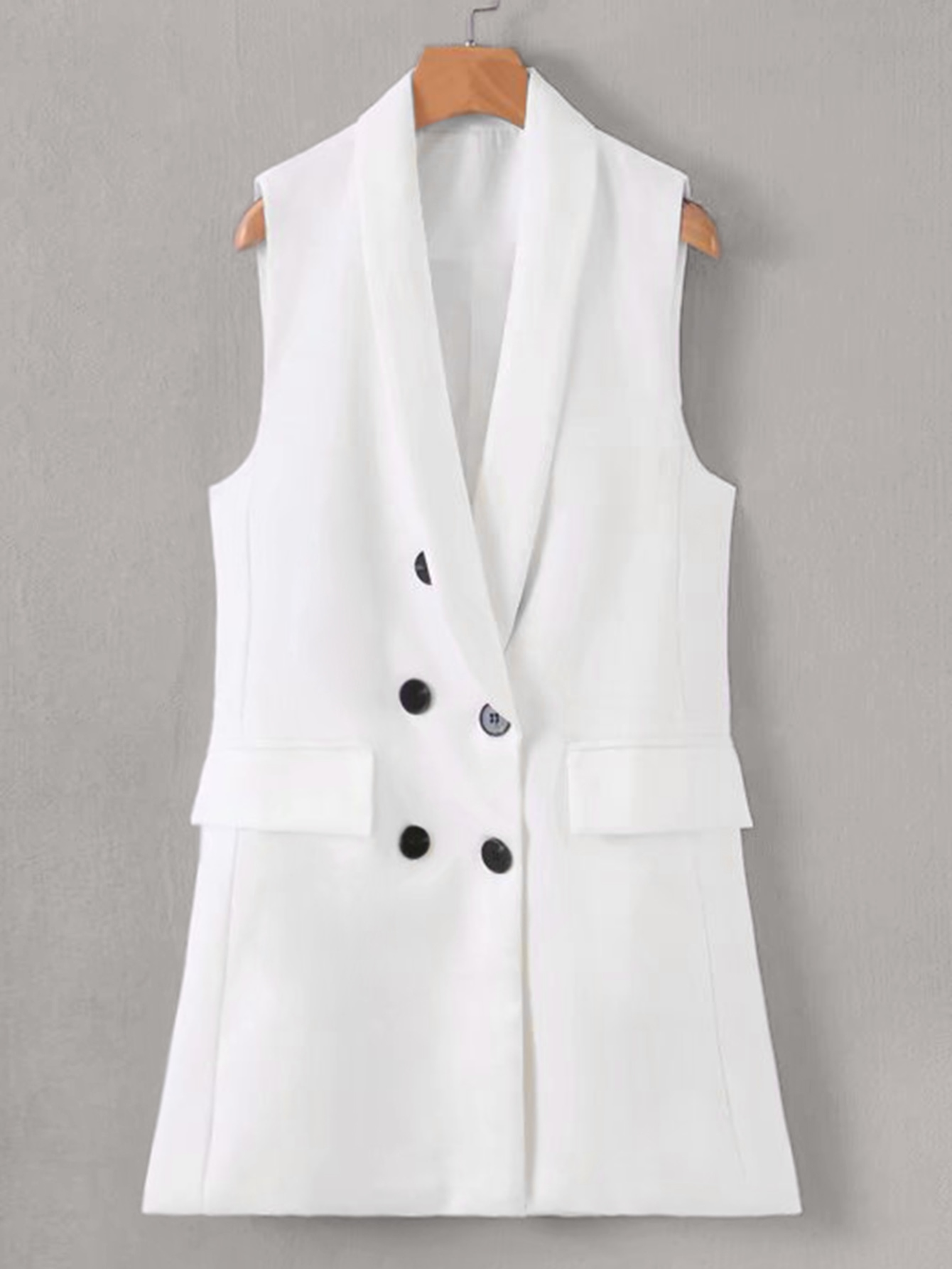 Пиджак  - Белый цвет